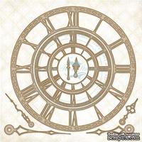 Чипборд Blue Fern Studios - Roman Clock Set - Large
