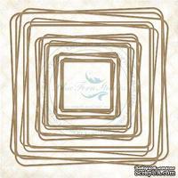 Чипборд Blue Fern Studios - Graduated Squares
