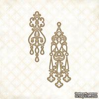 Чипборд Blue Fern Studios - Jeweled Page Baubles