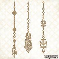 Чипборд Blue Fern Studios - Jeweled Page Dangles