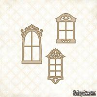 Чипборд Blue Fern Studios - Petite Windows