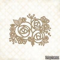 Чипборд Blue Fern Studios - Rose Bouquet