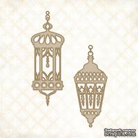 Чипборд Blue Fern Studios - Eastern Lanterns