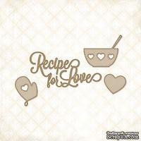 Чипборд Blue Fern Studios - Recipe for Love