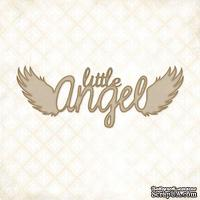 Чипборд Blue Fern Studios - Little Angel Quote