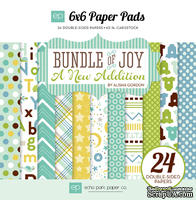 Набор бумаги от Echo Park - Bundle of Joy - A New Addition Boy, 15x15 см, 24 шт