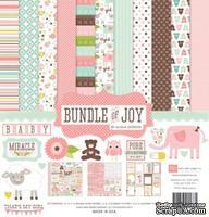 Набор бумаги от Echo park - Bunble of Joy Girl - Baby Girl Collection Kit