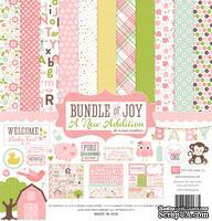 Набор двусторонней бумаги для скрапбукинга от Echo park - Bundle of Joy - A New Addition Girl