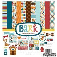 Набор бумаги от Echo Park - Bark, 30х30 см, 12 листов + 1 лист наклеек
