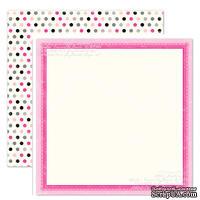 Лист скрапбумаги от Echo Park - Precious Polka Dots, 30х30см