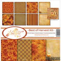 Набор скрапбумаги от Reminisce - Reminisce-Best Of Harvest Collection Kit
