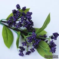 Веточка, цвет фиолетовый