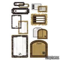 Набор карточек для журналинга с веллумом от BasicGrey -  Basic Kraft - Journaling Transparencies - Take Note - ScrapUA.com
