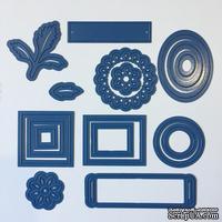 Анкционный набор ножей (17 шт) при покупке машинки Platinum