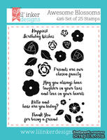 Штампы от Lil' Inker Designs - Awesome Blossoms Stamps