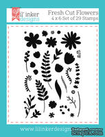 Штампы от Lil' Inker Designs - Fresh Cut Flowers Stamps