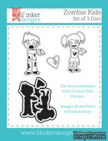 Нож для вырубки от Lil' Inker Designs - Zombie Kids Die Set