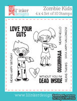 Нож для вырубки от Lil' Inker Designs - Zombie Kids Stamps