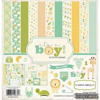 Набор скрапбумаги и декора Carta Bella  - It's a Boy Collection Kit, 30х30 см