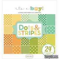 Набор скрапбумаги Carta Bella - It's a Boy - Dots and Stripes, 15х15 см