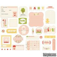 Высечки Carta Bella - It's a Girl - Ephemera Cardstock Die-Cuts