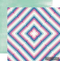 Двусторонний лист бумаги от Carta Bella - Aztec, 30,5x30,5см - ScrapUA.com