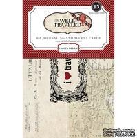 Карточки для журналинга Carta Bella Well Travelled - Postcard Pack