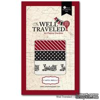 Бумажный скотч Carta Bella Well Travelled - Washi Tape, 3 шт