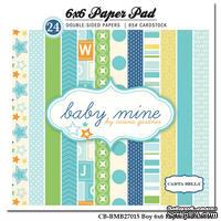 Набор скрапбумаги Carta Bella - Baby Mine Boy, 15х15 см