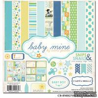 Набор скрапбумаги и декора Carta Bella - Baby Mine Boy, 30х30 см