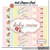 Набор скрапбумаги Carta Bella - Baby Mine Girl, 15х15 см