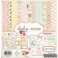 Набор скрапбумаги и декора Carta Bella - Baby Mine Girl, 30х30 см