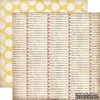 Лист скрапбумаги от Echo Park - Conversion Table, 30х30 см