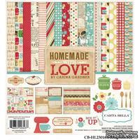 Набор скрапбумаги и декора Carta Bella  - Homemade with Love, 30х30 см