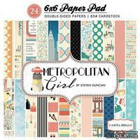 Набор скрапбумаги Carta Bella - Metropolitan Girl, 15х15 см