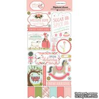 Высечки их чипборда Carta Bella Rock-A-Bye Girl 6x13 Chipboard