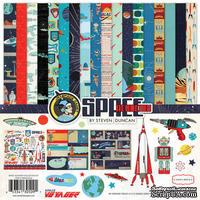 Набор скрапбумаги и декора Carta Bella  - Space Academy, 30х30 см