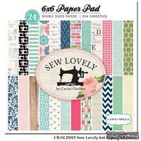 Набор скрапбумаги Carta Bella - Sew Lovely, 15х15 см