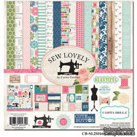 Набор скрапбумаги и декора Carta Bella - Sew Lovely, 30х30 см