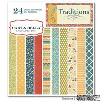 Набор скрапбумаги Carta Bella - Traditions, 15х15 см