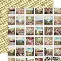 Лист скрапбумаги от Echo Park - Snapshots, 30х30 см