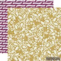 Лист скрапбумаги от Echo Park - Golden, 30х30 см
