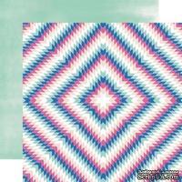 Лист скрапбумаги от Echo Park - Aztec, 30х30 см