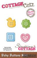 Лезвие CottageCutz - Baby Buttons Mini, 4,5х4,5 см
