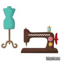 Лезвие CottageCutz - Sewing Machine, 10х10 см, коллекция My Little Shoebox