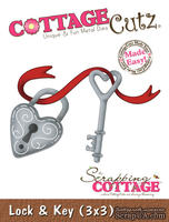 Лезвие CottageCutz - Lock & Key, 7,5х7,5 см