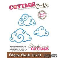 Лезвие CottageCutz - Filigree Clouds (3x3)