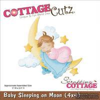 Лезвие CottageCutz - Baby Sleeping On Moon