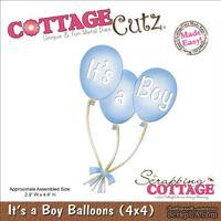 Лезвие CottageCutz - It's A Boy Balloons