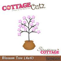 Лезвие CottageCutz - Blossom Tree in a Pot, 10х10 см